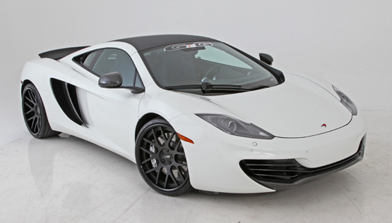 White Mclaren on GFG Luxury Wheels – Giovanna Luxury Wheels