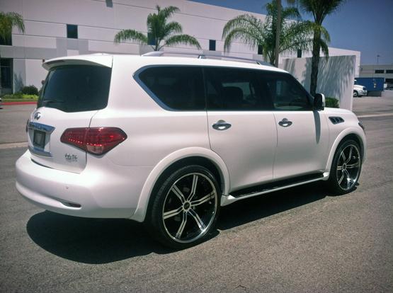 Infiniti Qx56 On Lightweight Rims Giovanna Luxury Wheels