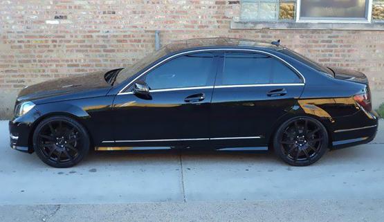 2012 Mercedes C300 Black Rims My Site