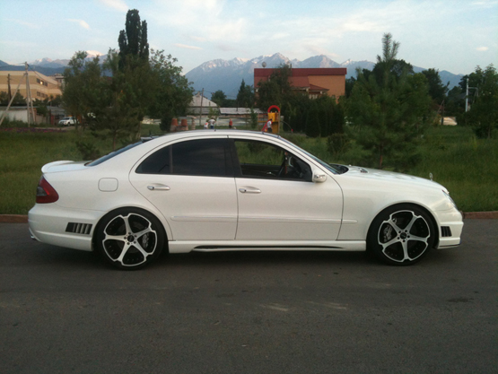 Mercedes Benz E Class On Concave Wheels Giovanna Luxury Wheels