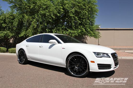 Luxury Audi A7 Black On Black Photos