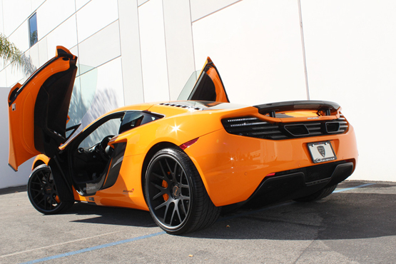 black wheels for mclaren mp4-12c – giovanna luxury wheels