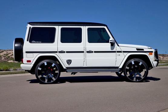 tags - White G Wagon