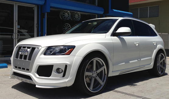 Custom Painted Wheels for Audi – Giovanna Luxury Wheels
