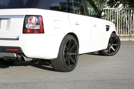 Black Rims for Range Rover  Giovanna Luxury Wheels