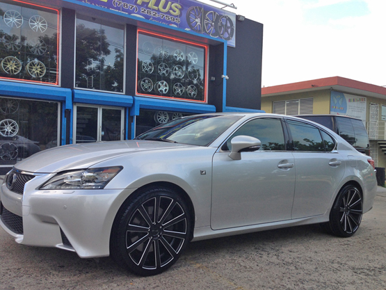 Black Rims for Lexus – Giovanna Luxury Wheels