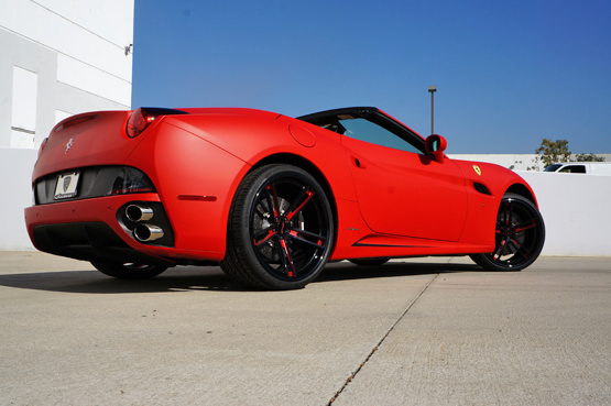 Custom Painted Rims For Ferrari Giovanna Luxury Wheels