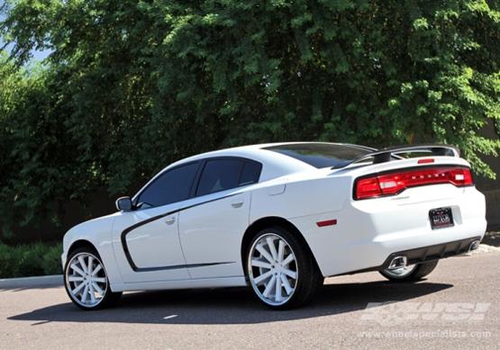 Custom Painted Rims For Dodge Giovanna Luxury Wheels