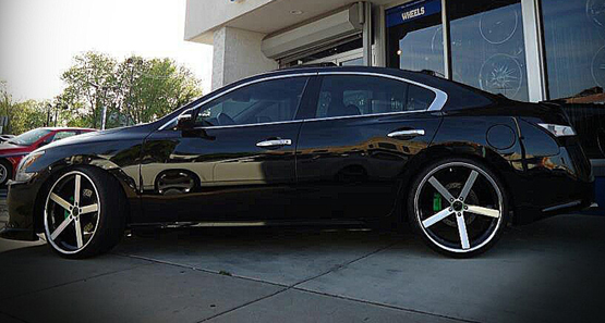 Concave Rims For Nissan Giovanna Luxury Wheels