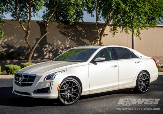 Black Wheels For Cadillac Giovanna Luxury Wheels