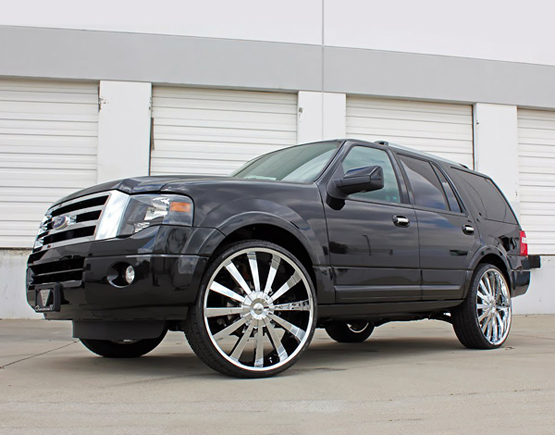 Chrome Rims for Ford – Giovanna Luxury Wheels