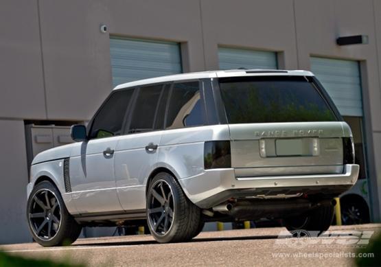 Black Wheels for Range Rover  Giovanna Luxury Wheels