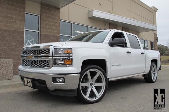 Big Wheels for Chevrolet – Giovanna Luxury Wheels