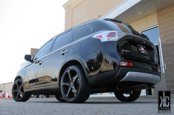 Black Wheels for Mitsubishi – Giovanna Luxury Wheels