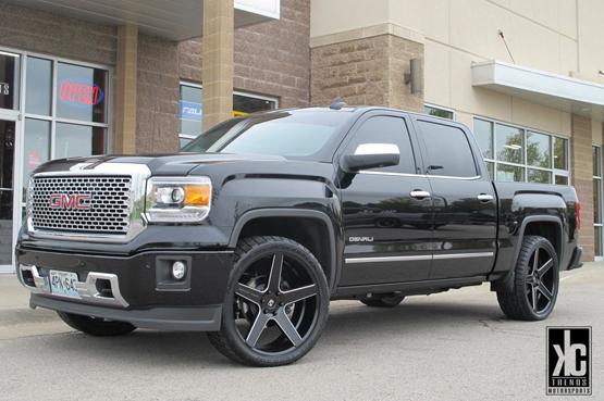 Gmc Sierra Black Rims >> Truck Rims For Gmc Giovanna Luxury Wheels