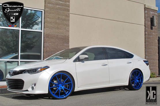 Custom Painted Wheels for Toyota – Giovanna Luxury Wheels