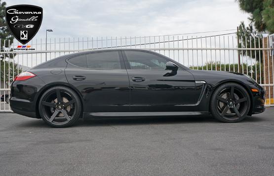 Black Rims for Porsche – Giovanna Luxury Wheels
