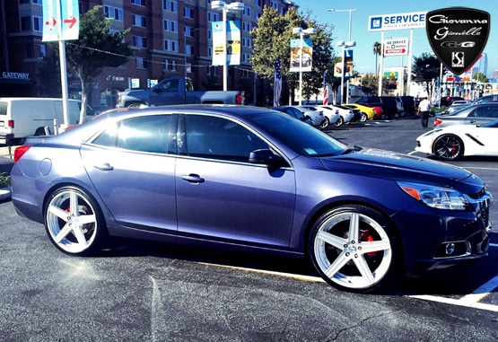 Luxury Wheels For Chevrolet Malibu The Dublin 5