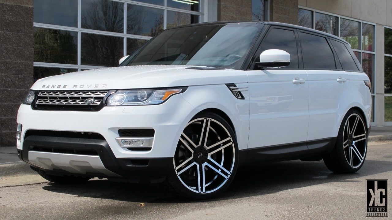 Big Rims For Range Rover Giovanna Luxury Wheels