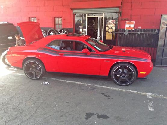 Dodge Challenger Koko Kuture Sardinia 5 Giovanna Luxury Wheels