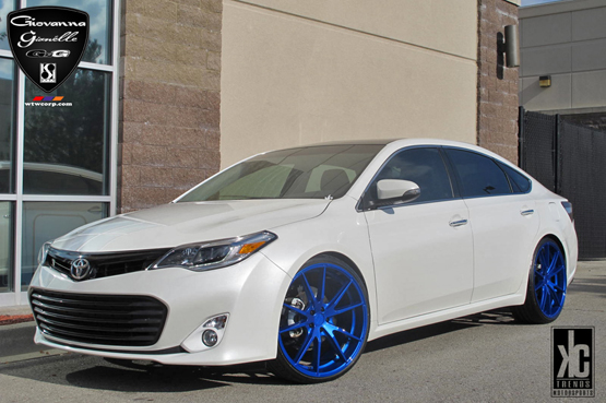 Toyota Avalon Gianelle Davalu Giovanna Luxury Wheels