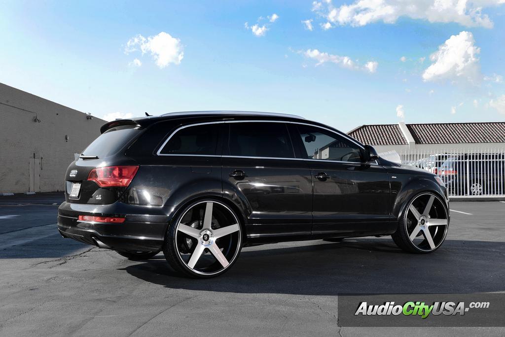Audi Q7 Koko Kuture Sardinia Giovanna Luxury Wheels