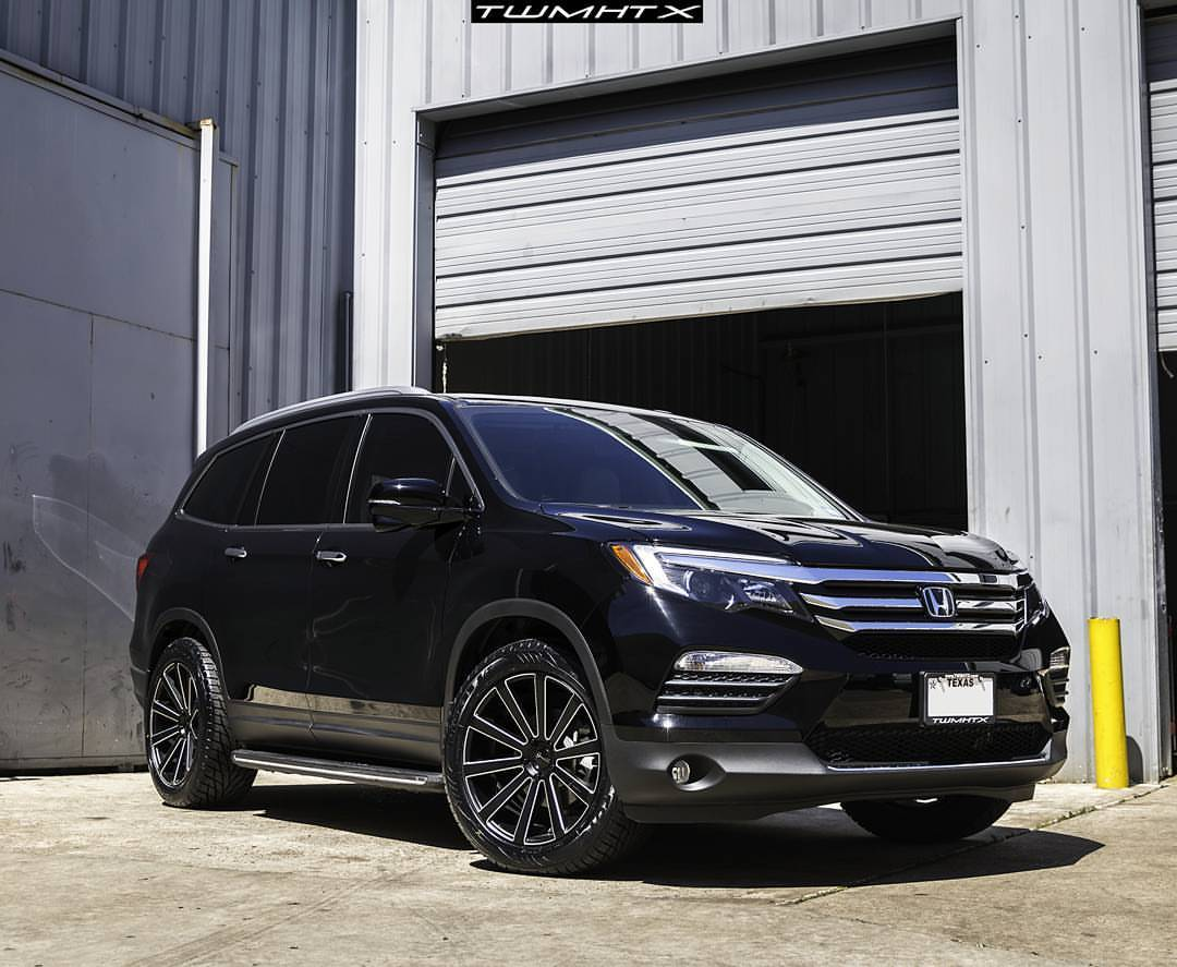 Honda pilot santoneo giovanna luxury wheels for Black honda pilot