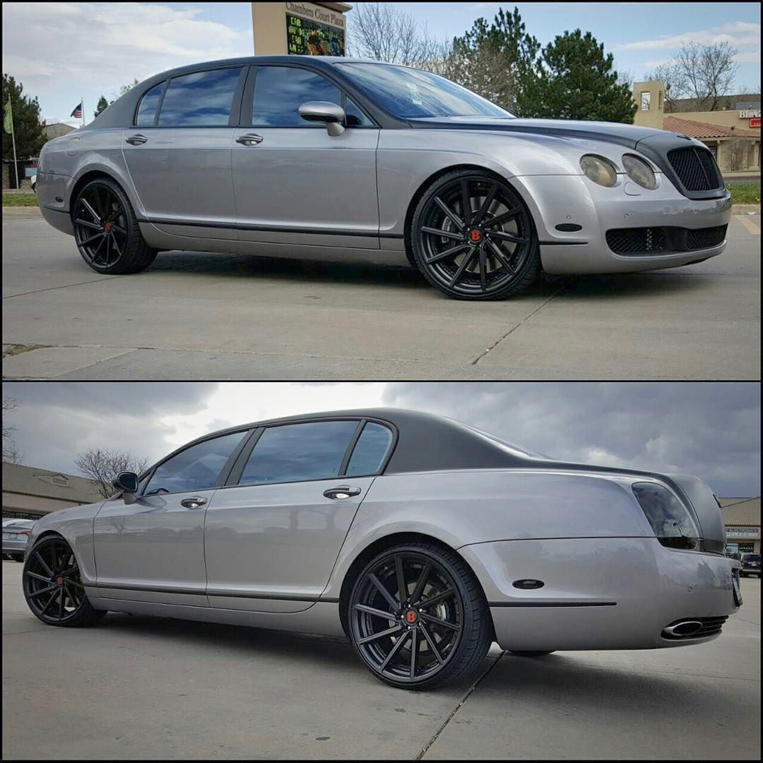 The Osbournes New Bentley Flying Spur: Giovanna Luxury Wheels