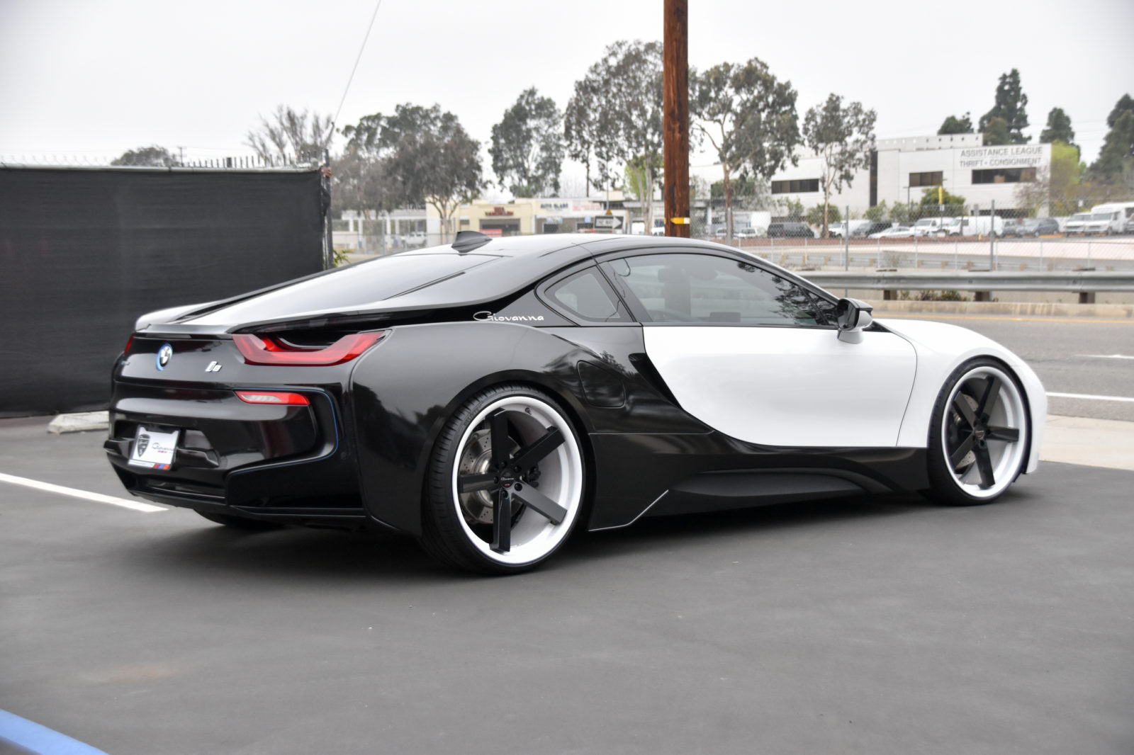 Bmw I8 Mecca Ff Giovanna Luxury Wheels