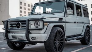 MERCEDES BENZ G-WAGON – GIANELLE VERDI